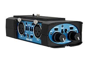 DSLR audio adapter