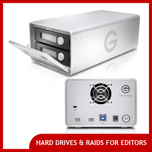 Best Hard Drives & Raid Systems Video Editors
