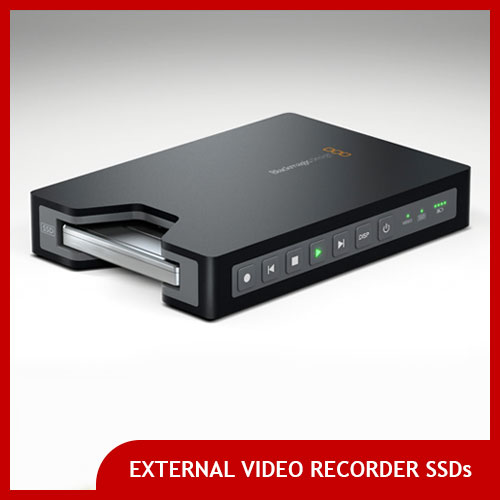 SSDs for Atomos Ninja and Blackmagic Hyperdeck