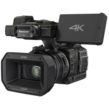 Inexpensive professional video camera
