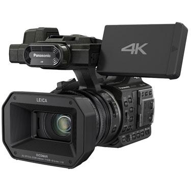 Inexpensive professional video camera