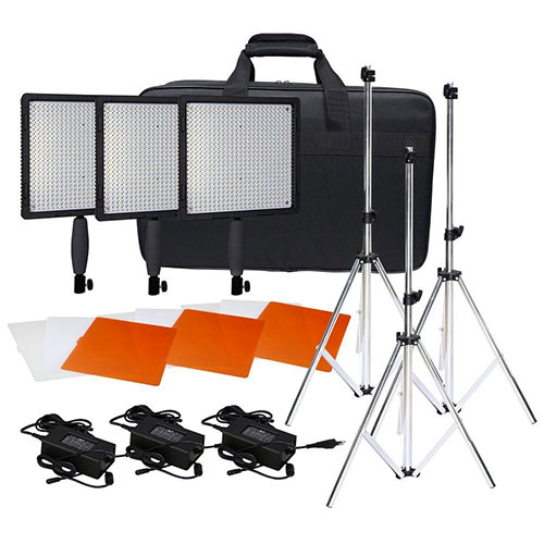 Led Video Lights Lighting Kits Doentary