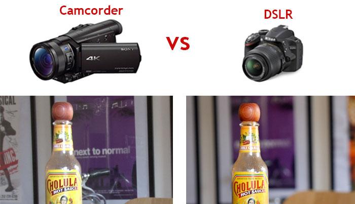 DSLRs vs Camcorders
