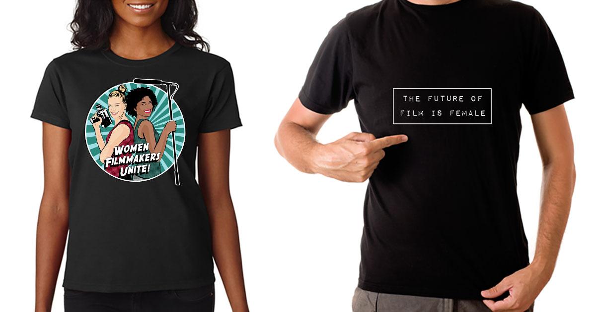 feminist female filmmaker friday t shirts
