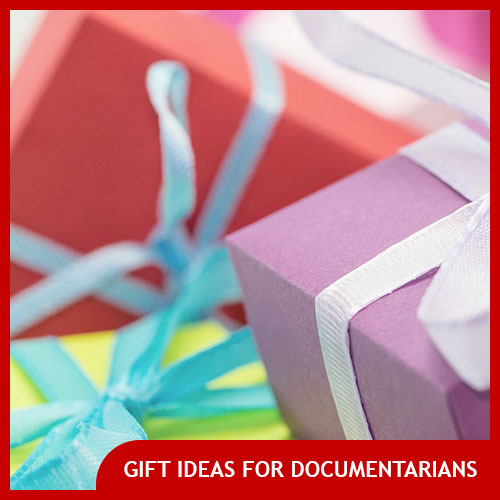 documentary filmmaker gifts