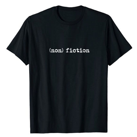 nonfiction t shirt