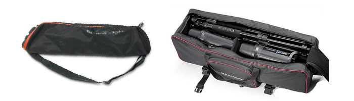 soft tripod carrying case