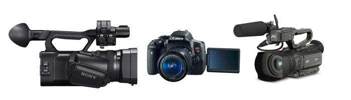 Low Budget Documentary Cameras