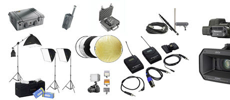 documentary film equipment list