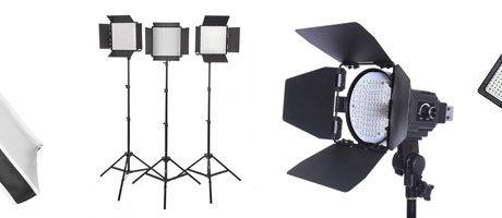 cheap led lights for video