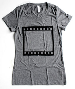 35MM Film Negative T-Shirt - Gifts for Documentary Filmmakers
