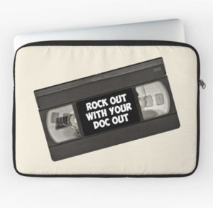 Rock Out With Your Doc Out Laptop Sleeve