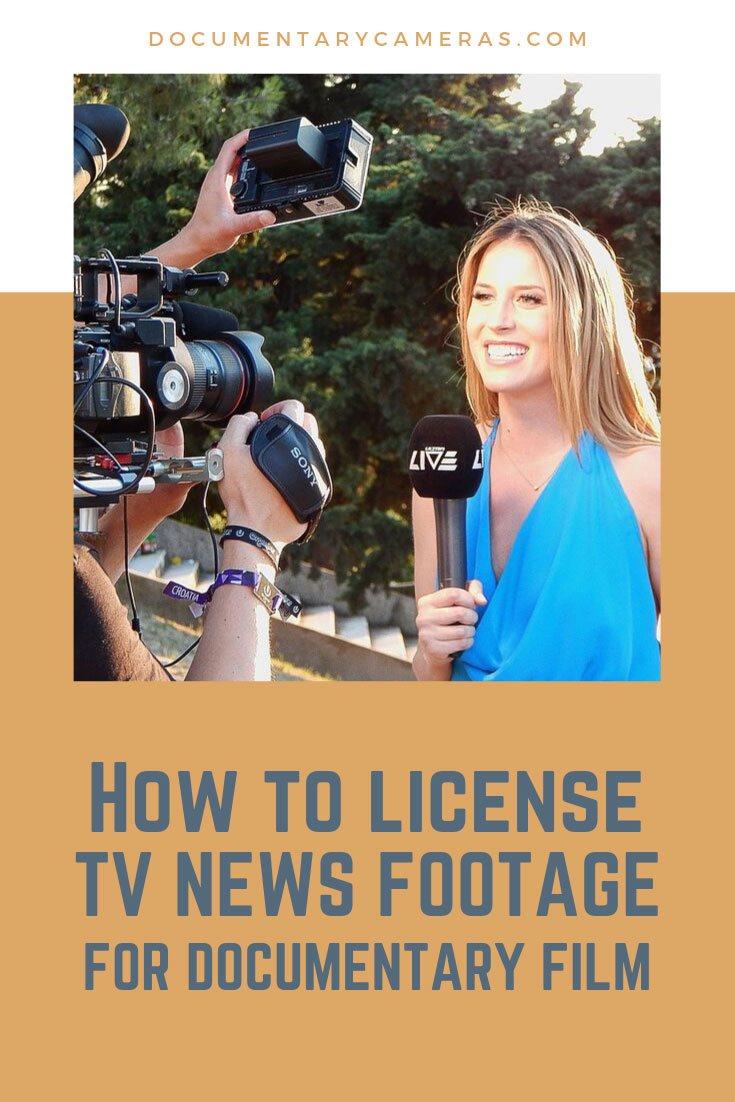 How to license TV news footage for a documentary: How much does TV news footage cost to license?