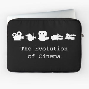 The Evolution of Cinema Laptop Sleeve